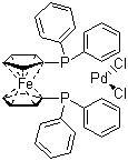 Dichloro[1,1'-bis(diphenylphosphino)ferrocene]palladium(II)